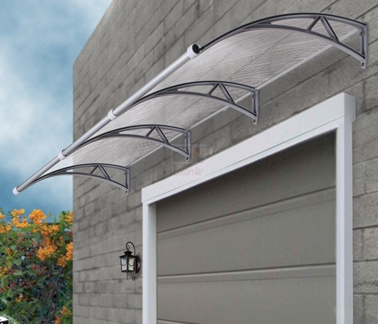 The Hawthorn Outdoor Window Awning Cover 1m X 1m With Gutter