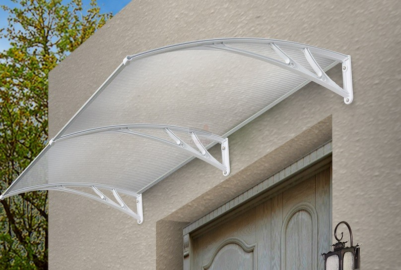 The Frazer Outdoor Window Awning Cover 3000 X 1200mm White